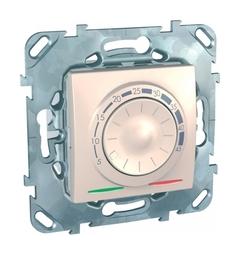 Термостат для теплого пола UNICA, с датчиком температуры пола, бежевый