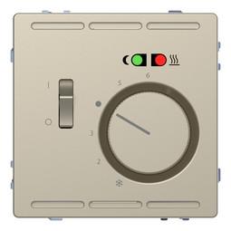 Термостат для теплого пола MERTEN D-LIFE, с датчиком, песочный