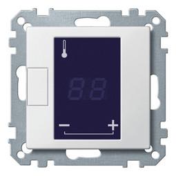 Механизм термостата для теплого пола коллекции Merten, с дисплеем